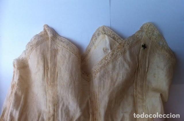 Vestidos Muñeca Española Clásica: Vestido principios siglo para muñeca porcelana o de las muy antiguas, - Foto 2 - 73051827
