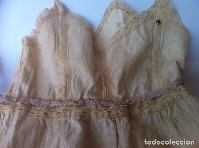 Vestidos Muñeca Española Clásica: Vestido principios siglo para muñeca porcelana o de las muy antiguas, - Foto 3 - 73051827