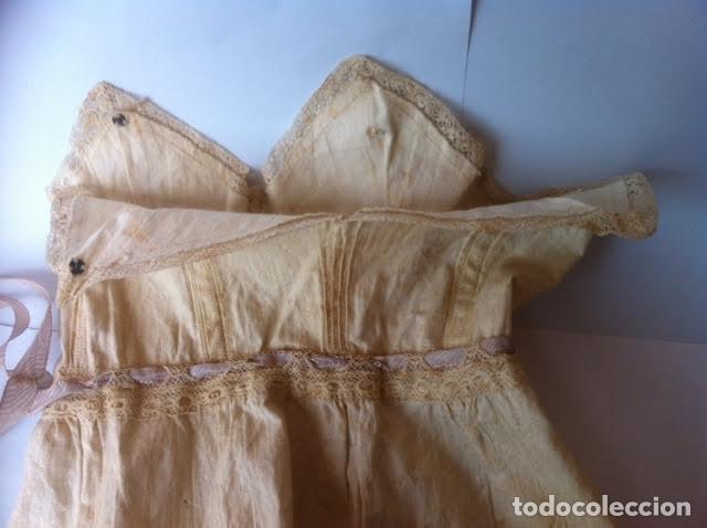 Vestidos Muñeca Española Clásica: Vestido principios siglo para muñeca porcelana o de las muy antiguas, - Foto 4 - 73051827