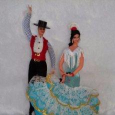 Vestidos Muñeca Española Clásica: ATOSA SOUVENIR HECHO A MANO EN CAJA. Lote 77541521
