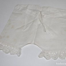 Vestidos Muñeca Española Clásica: POLOLO PARA MUÑECA ANTIGUA. LINO. ESPAÑA. PRINC. S. XX. Lote 78971033