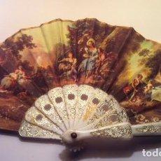 Vestidos Muñeca Española Clásica: ABANICO PARA MUÑECA ANTIGUA. Lote 80394757