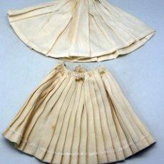 Vestidos Muñeca Española Clásica: FALDA TABLAS Y COMBINACIÓN GUENDOLINA PIERINA AÑOS 60. Lote 86642284