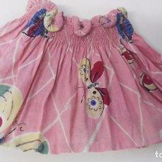 Vestidos Muñeca Española Clásica: ANTIGUO VESTIDITO ACCESORIO DE MUÑECA MARIQUITA PEREZ ANTIGUO AÑOS 40-50. Lote 87307488