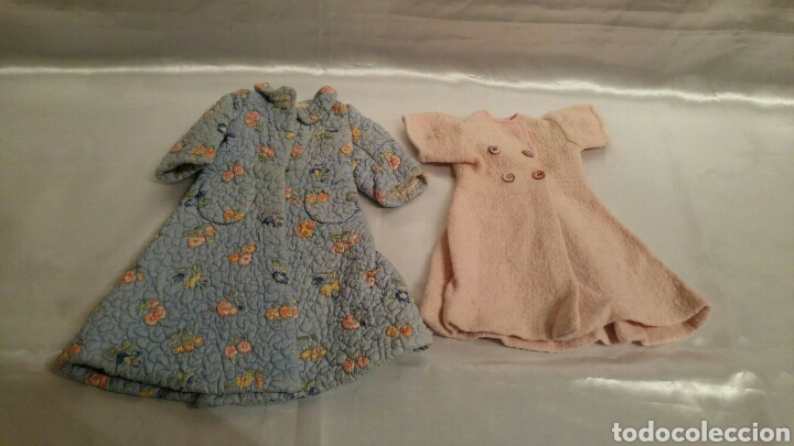BATA O ABRIGO MUÑECA ANTIGUA (Juguetes - Vestidos y Accesorios Muñeca Española Clásica (Hasta 1960) )
