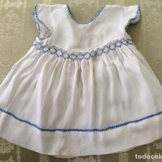 Vestidos Muñeca Española Clásica: VESTIDO ANTIGUO DE MUÑECA AÑOS 50. Lote 88613576