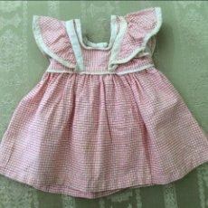 Vestidos Muñeca Española Clásica: VESTIDO ANTIGUO DE MUÑECA AÑOS 50. Lote 88617604