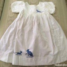 Vestidos Muñeca Española Clásica: VESTIDO ANTIGUO DE MUÑECA AÑOS 50. Lote 88620224