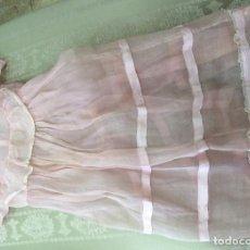Vestidos Muñeca Española Clásica: VESTIDO ANTIGUO DE MUÑECA AÑOS 50. Lote 88623856