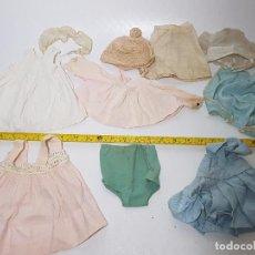 Vestidos Muñeca Española Clásica: LOTE DE VESTIDOS MUÑECA ANTIGUA. Lote 89099188