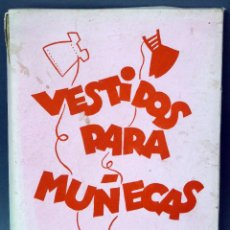 Vestidos Muñeca Española Clásica: VESTIDOS PARA MUÑECAS NIKITO MODELOS AÑOS 50 CON MUÑECA CARTÓN Y VESTIDOS PARA COSER. Lote 89656680