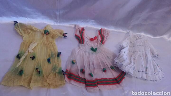 VESTIDO MUÑECA TIPO LENCY LENCI (Juguetes - Vestidos y Accesorios Muñeca Española Clásica (Hasta 1960) )