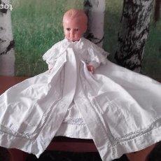 Vestidos Muñeca Española Clásica: ANTIGUO FALDÓN PARA MUÑECA DE 58 A 60 CM. Lote 95039647