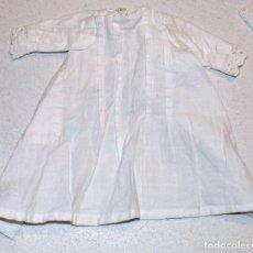 Vestidos Muñeca Española Clásica: VESTIDO DE ALGODON BLANCO. Lote 95341683