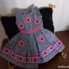 Vestidos Muñeca Española Clásica: VESTYIDO ANTIGUO PARA CAYETANA O MARIQUITA DE LAS MAS DELGADAS. Lote 127152504