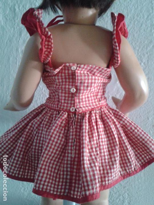 Vestidos Muñeca Española Clásica: PRECIOS VESTIDO AÑOS 50 ,PARA UNA MUÑECA DE 55 CM ,(VENIA EN ESTA MUÑECA DE FLORIDO) - Foto 3 - 100510703