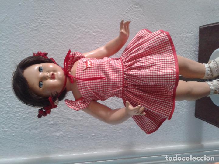 Vestidos Muñeca Española Clásica: PRECIOS VESTIDO AÑOS 50 ,PARA UNA MUÑECA DE 55 CM ,(VENIA EN ESTA MUÑECA DE FLORIDO) - Foto 4 - 100510703