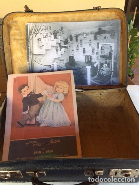 Vestidos Muñeca Española Clásica: Antigua maleta ,para lropa Mariquita Pérez , lleva sello Asilo Pobres Huérfanos , reproducción fotos - Foto 10 - 74284995