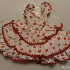 Vestidos Muñeca Española Clásica: VESTIDOS DE GITANA PARA MUÑECA ESPAÑOLA AÑOS 50. Lote 109392635
