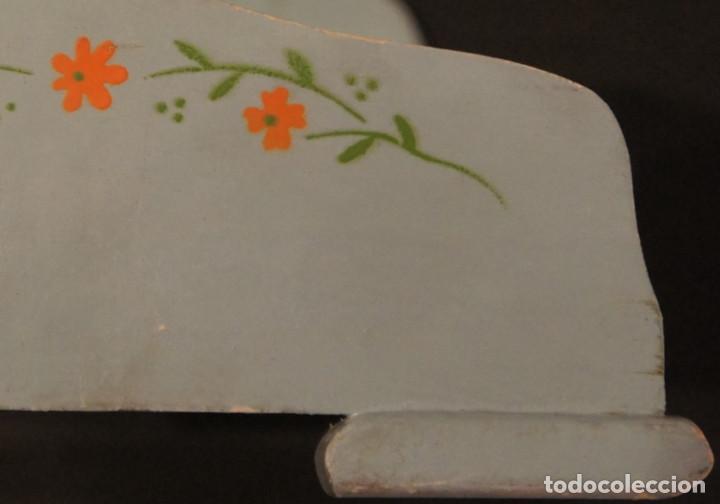 Vestidos Muñeca Española Clásica: Cama de muñeca (cama de juguete), madera, plegable, años 50 - Foto 13 - 112285951