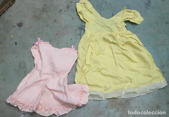 2 VESTIDOS PARA MUÑECA (Juguetes - Vestidos y Accesorios Muñeca Española Clásica (Hasta 1960) )