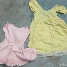 Vestidos Muñeca Española Clásica: 2 VESTIDOS PARA MUÑECA. Lote 112524939