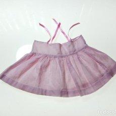 Vestidos Muñeca Española Clásica: PRECIOSO VESTIDO DE MARIQUITA PEREZ 1º GENERACIÓN - LAVADO - REPARADAS CINTAS - . Lote 113067707