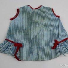 Vestidos Muñeca Española Clásica: VN-98. VESTIDO PARA MUÑECA DE ALGODON. AÑOS 40-50.. Lote 113211787