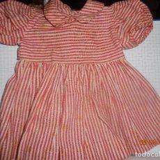 Vestidos Muñeca Española Clásica: CLASICO VESTIDO DE MARIQUITA PEREZ, 1ª ÉPOCA, NO IBAN MARCADOS, EN MUY BUEN ESTADO, . Lote 114659031