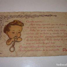 Vestidos Muñeca Española Clásica: INTRUCCIONES PARA LA MUÑECA- BEBE....DOLLY.. Lote 120251183