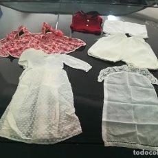 Vestidos Muñeca Española Clásica: LOTE DE ROPA ANTIGUA PARA MUÑECA ROPA PARA MUÑECAS. Lote 121207979