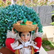 Vestidos Muñeca Española Clásica: MUÑECA MARCA BONO. TIENE UNACARA PRECIOSA MUY BIEN PINTADA.. Lote 122561635