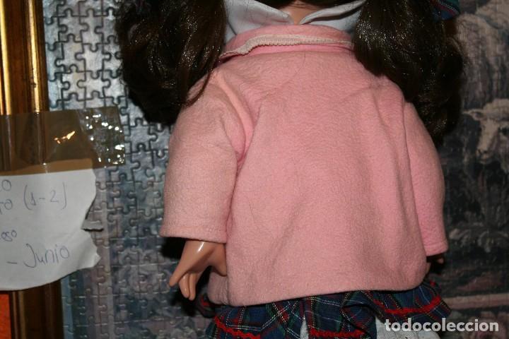 Vestidos Muñeca Española Clásica: antiguo abrigo y gorrito rosa berta de gama para muñeca tipo mariquita perez - Foto 2 - 123372899