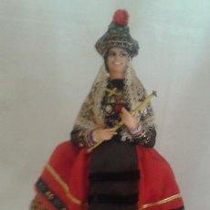 Vestidos Muñeca Española Clásica: VESIV COLECCION MUÑECOS MARIN CHICLANA MUJER JOVEN SEGOVIANA 24 CM ALTO. Lote 128703187