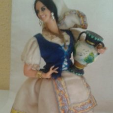 Vestidos Muñeca Española Clásica: VESIV COLECCION MUÑECOS MARIN CHICLANA MUJER JOVEN TALAVERANA 24 CM. Lote 128703479