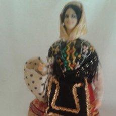 Vestidos Muñeca Española Clásica: VESIV COLECCION MUÑECOS MARIN CHICLANA MUJER JOVEN LAGARTERA 24 CM ALTO . Lote 128703523