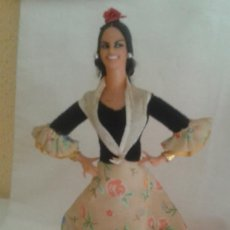 Vestidos Muñeca Española Clásica: VESIV COLECCION MUÑECOS MARIN CHICLANA MUJER JOVEN ANDALUZA 24 CM ALTO . Lote 128703931