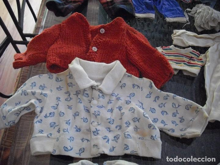 Vestidos Muñeca Española Clásica: Lote ropa muñecas antiguas,varios tamaños,faldas,pantalon,jerseys,ropa interior,zapatos....etc - Foto 6 - 128908899