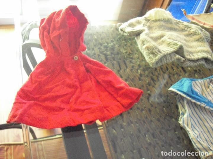 Vestidos Muñeca Española Clásica: Lote ropa muñecas antiguas,varios tamaños,faldas,pantalon,jerseys,ropa interior,zapatos....etc - Foto 12 - 128908899