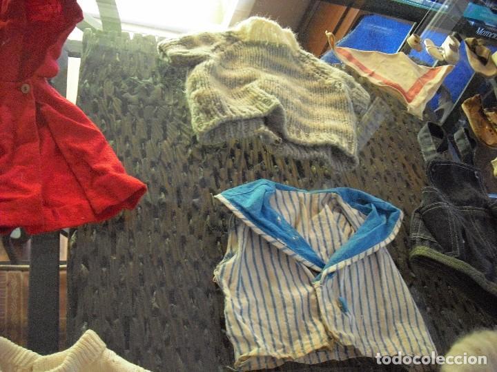 Vestidos Muñeca Española Clásica: Lote ropa muñecas antiguas,varios tamaños,faldas,pantalon,jerseys,ropa interior,zapatos....etc - Foto 13 - 128908899