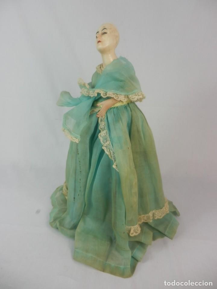 Vestidos Muñeca Española Clásica: Muñeca años 20 muñeca lámpara de las llamadas catalanas. A restaurar - Foto 2 - 132400734