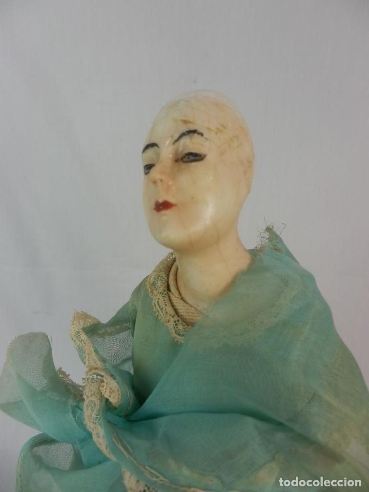 Vestidos Muñeca Española Clásica: Muñeca años 20 muñeca lámpara de las llamadas catalanas. A restaurar - Foto 3 - 132400734