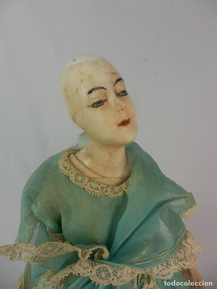 Vestidos Muñeca Española Clásica: Muñeca años 20 muñeca lámpara de las llamadas catalanas. A restaurar - Foto 4 - 132400734