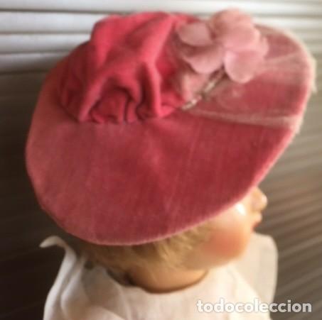 Vestidos Muñeca Española Clásica: Pamela sombrero para muñeca antigua - Foto 2 - 133023482