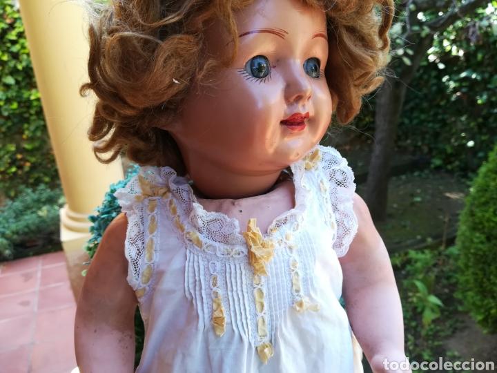 Vestidos Muñeca Española Clásica: Enaguas camison antiguo para muñeca de 53 a 56 cm....v127 - Foto 2 - 133202003
