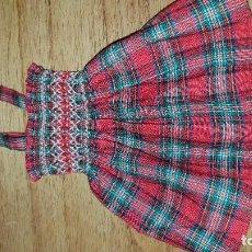 Vestidos Muñeca Española Clásica: VESTIDO DE CUADROS PARA LESLY . Lote 134088854
