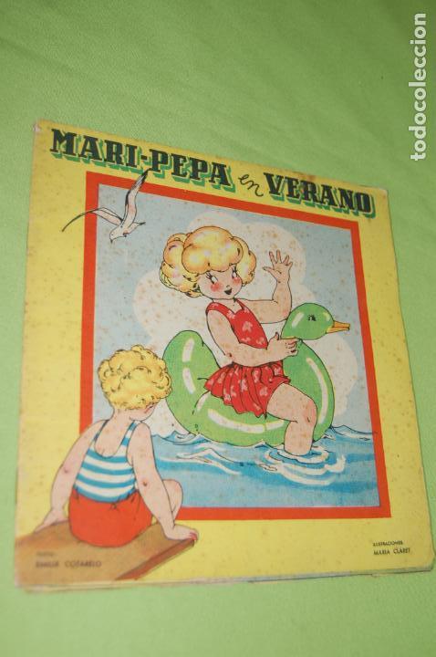 MARI PEPA MENDOZA EN VERANO (Juguetes - Vestidos y Accesorios Muñeca Española Clásica (Hasta 1960) )
