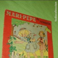 Vestidos Muñeca Española Clásica: MARI PEPA MENDOZA EN PRIMAVERA. Lote 135930210