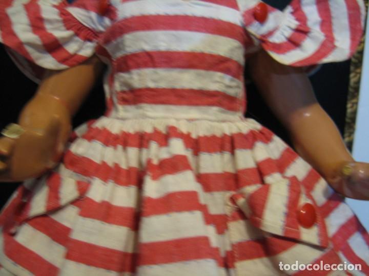 Vestidos Muñeca Española Clásica: VESTIDO ORIGINAL CAYETANA DELGADA, O LILI. AÑOS 50. - Foto 2 - 138841886