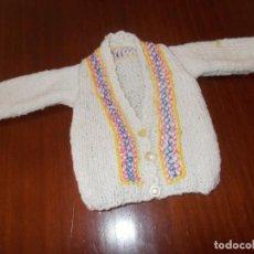 Vestidos Muñeca Española Clásica: CHAQUETA ARTESANA BORDADA CON PUNTO DE CRUZ ES PARA GISELA , CAYETANA ,MARIQUITA ETC. Lote 140600514